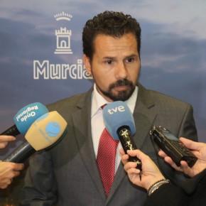 C's vuelve a solicitar una entrevista con el consejero de Fomento para abordar el futuro del transporte público urbano y la llegada del AVE a Murcia