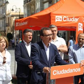 Ciudadanos reitera su apuesta porque Cartagena se convierta en la capital cultural e industrial de la Región