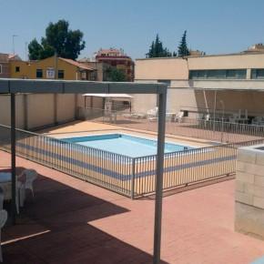 Ciudadanos considera inaceptable que la piscina de Alquerías lleve cerrada cinco días, en pleno agosto, por falta de mantenimiento