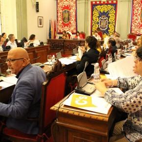 El Gobierno local se compromete a crear una mesa para estudiar la reducción del precio del agua tras una pregunta de Ciudadanos