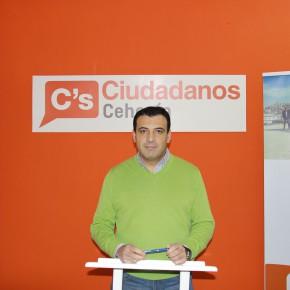 """Ciudadanos presenta una iniciativa para determinar la responsabilidad patrimonial del alcalde de Cehegín en el """"Caso Conserjes"""""""