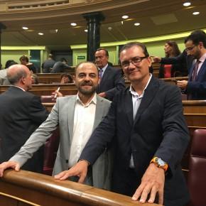 Los diputados de Ciudadanos por Murcia registran en el Congreso una batería de 11 preguntas al Gobierno