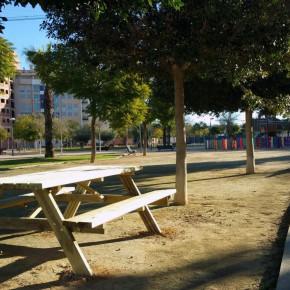 La Junta de Santiago y Zaraíche pone en marcha un plan de acondicionamiento en los parques y jardines de la pedanía