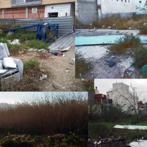 C's exige al PP una limpieza inmediata de los solares abandonados que degradan muchas zonas del sur de Murcia desde hace años