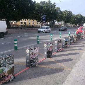 Ciudadanos exige a Ballesta medidas de seguridad efectivas para reducir el vandalismo en las estaciones de bicicletas
