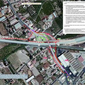 El pedáneo de Los Dolores propone a Fomento un plan estratégico integral para la mejora del entorno de Camino Tiñosa
