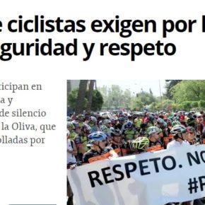 Cs exige a Navarro Corchón que ponga en marcha acciones de sensibilización vial  dirigidas a ciclistas, peatones y  conductores