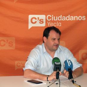 Ciudadanos afirma que el presidente López Miras miente sobre la problemática del agua en Yecla
