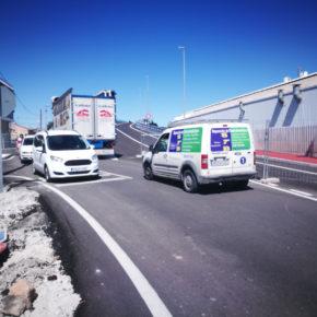 Cs advierte a José Ballesta de la falta de seguridad del puente de Camino Tiñosa y de los accesos del entorno