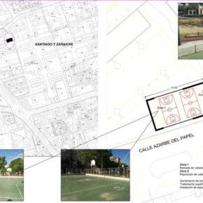 La Junta Municipal de Santiago y Zaraíche aprueba los proyectos de acondicionamiento de varias pistas deportivas en la pedanía