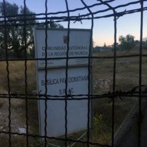 Cs exige la ejecución inmediata de la partida presupuestaria de 2016 para la recuperación del entorno de la Basílica de Algezares