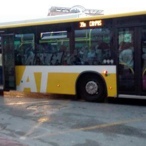 Cs denuncia el hacinamiento de viajeros en la línea 39 hacia la Universidad y la falta de valentía de José Ballesta con el transporte público
