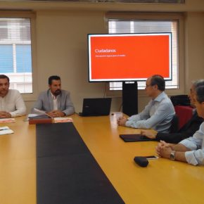 """Ciudadanos: """"La entrada del AVE soterrado a Murcia debería ser el objetivo de todos los murcianos"""""""