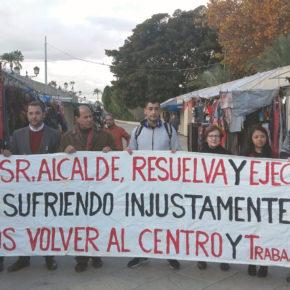 Cs denuncia el desinterés de la edil Maruja Pelegrín para reubicar a los vendedores del mercadillo de San Esteban
