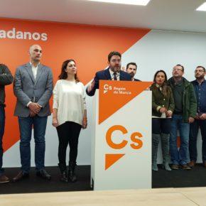 Ciudadanos exige a Ballesta y López Miras que no miren a otro lado y cesen al concejal Roque Ortiz