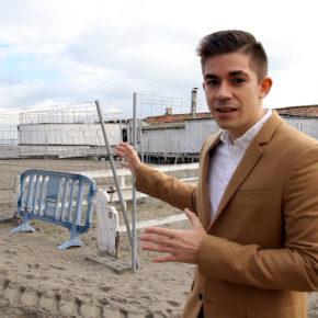Ciudadanos lamenta que el equipo de Gobierno del PP en San Pedro del Pinatar haya dejado abandonada casi seis años la rehabilitación del balneario Floridablanca