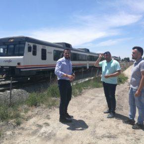 Cs pide la adecuación del carril de Las Vegas para agilizar el tráfico en la zona de Senda de los Garres tras el cierre del paso a nivel