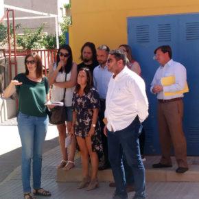 Cs espera que el acondicionamiento de la red eléctrica del colegio Enrique Laborda de Los Dolores sea una realidad tras años de espera