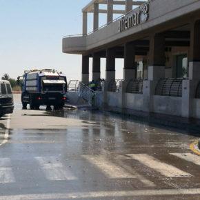 Cs exige explicaciones al Gobierno local sobre el uso irregular del servicio de limpieza viaria en un recinto privado