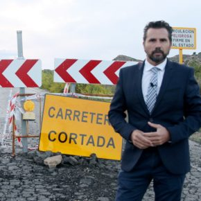 Ciudadanos exige una adecuación inmediata de la carretera de Barqueros para su reapertura al tráfico