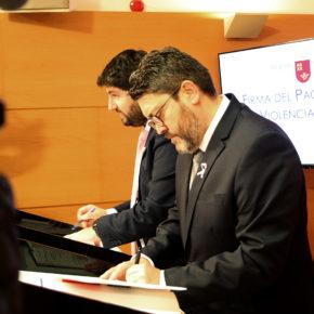 Ciudadanos subscribe el acuerdo contra la violencia machista con 69 medidas financiadas con 8 millones