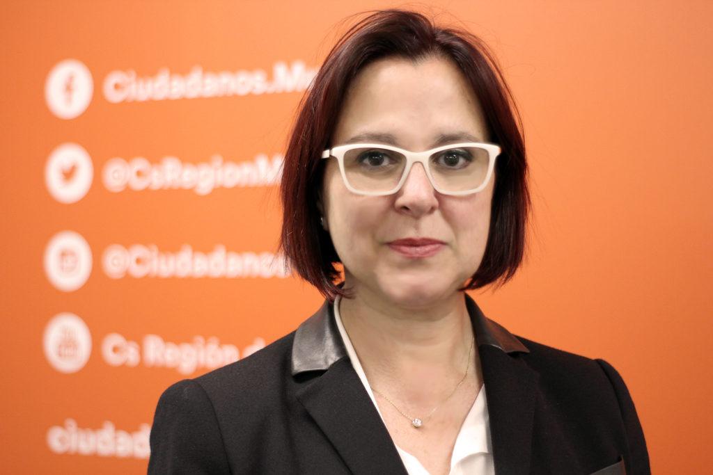 Isabel Franco secretaria de Comunicación Cs Región de Murcia