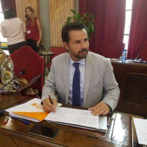 Cs exige a José Ballesta que no apruebe ningún convenio con el UCAM C.F. hasta que se constituya la nueva Corporación municipal
