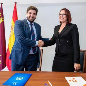 Ciudadanos suscribe un pacto de Gobierno para llevar la regeneración a la Región de Murcia
