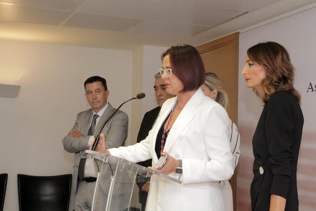 04072019 Rueda de prensa Grupo Parlamentario de Cs en la Asamblea