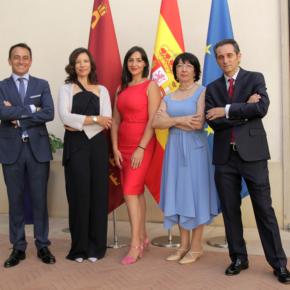 """Los cinco secretarios generales de Ciudadanos toman posesión """"con el objetivo de trabajar para mejorar el rumbo de la Región de Murcia"""""""