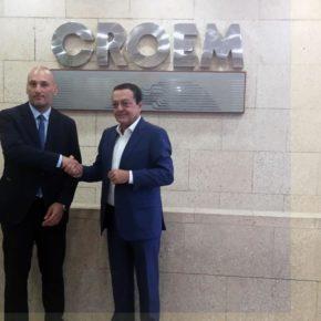 Turismo estrecha lazos con la CROEM para impulsar el emprendimiento y la creación de empleo de calidad en Murcia
