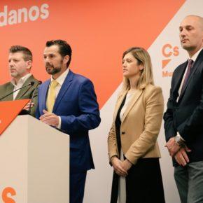 Cs recuerda a José Ballesta que no será comparsa del PP