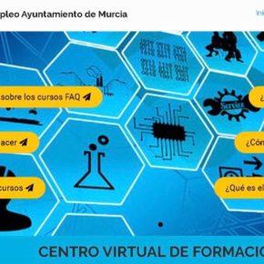 El Centro Virtual del Ayuntamiento mantiene activo su servicio on line para la realización de más 40 cursos de formación