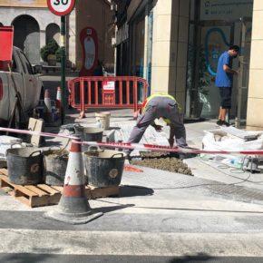 Fomento ejecuta más de 45 actuaciones de mejora de la accesibilidad en diferentes puntos de Murcia