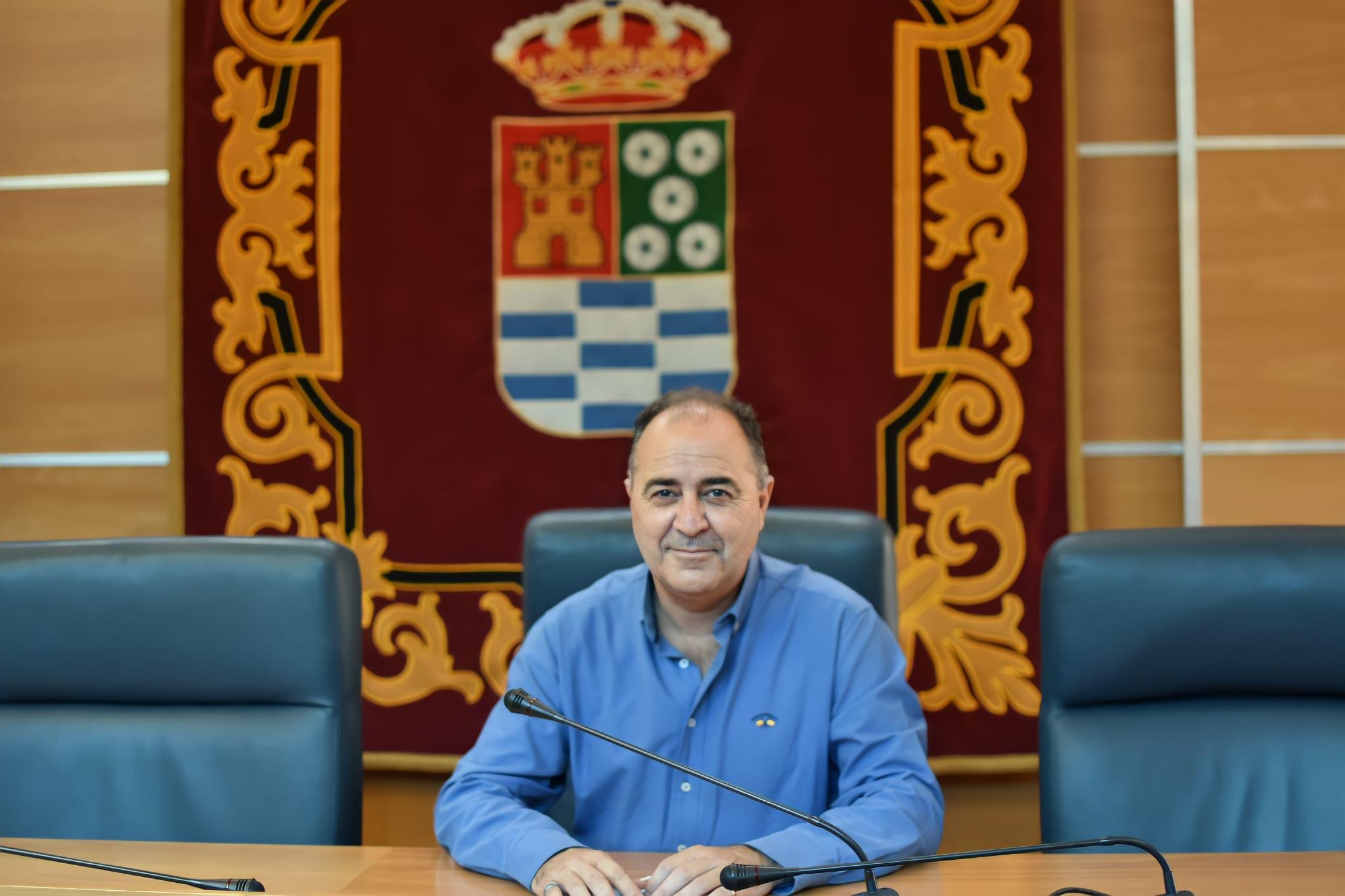 Joaquín Ignacio Martínez en el Ayuntamiento de Molina de Segura